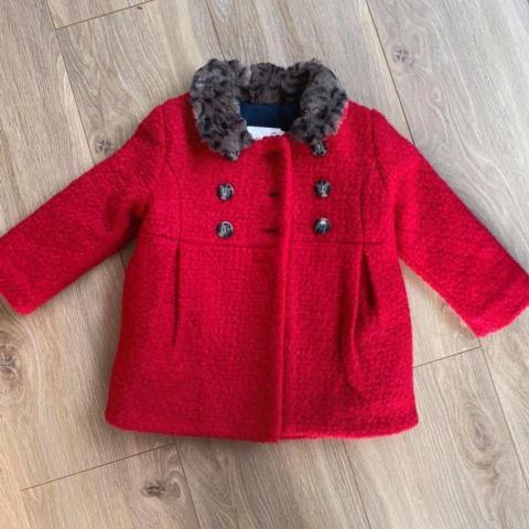 troc de  Manteau rouge Catimini , 12 mois, sur mytroc