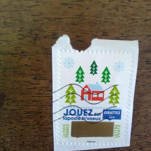 troc de  timbre obliteré (2), sur mytroc