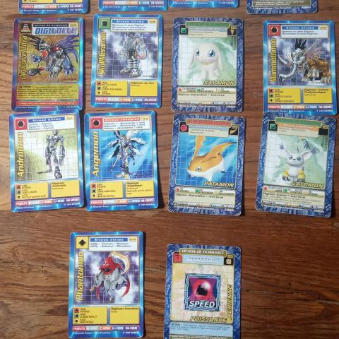 troc de  *Réservé* Cartes Digimon, sur mytroc