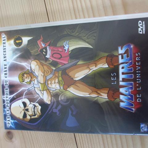 troc de  DVD Les maîtres de l'univers, sur mytroc