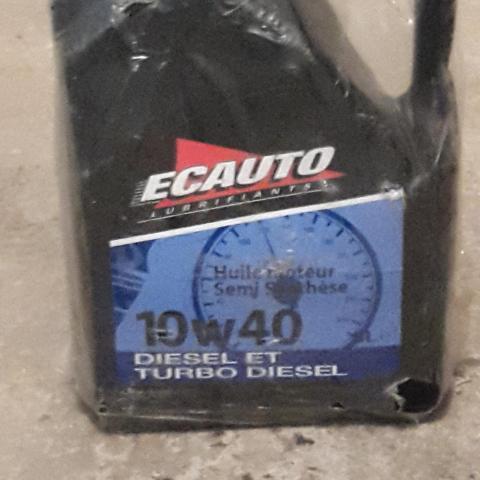 troc de  Huile moteur diesel ou turbo diesel, sur mytroc