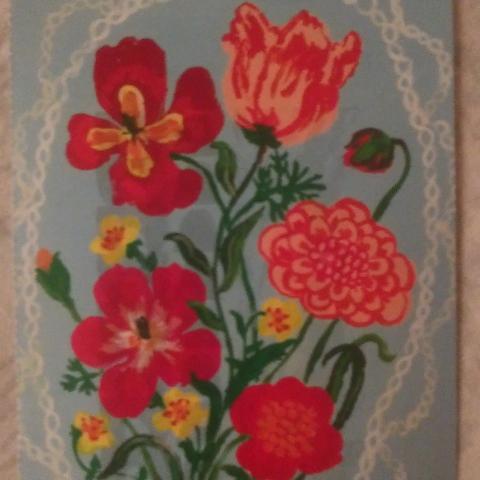 """troc de  Carte postale """"fleurs""""., sur mytroc"""