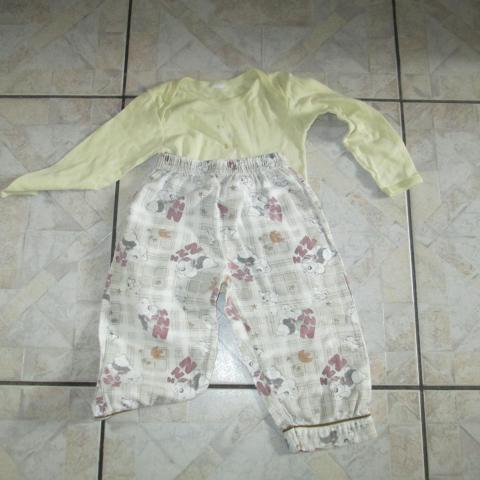 troc de  Culotte de pyjama 2 ans et petite chemise correct 3 noisettes, sur mytroc