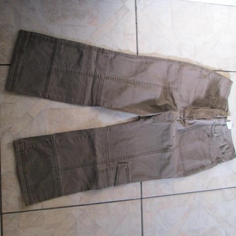 troc de  pantalon 10 ans marron camaïeu 5 noisettes, sur mytroc