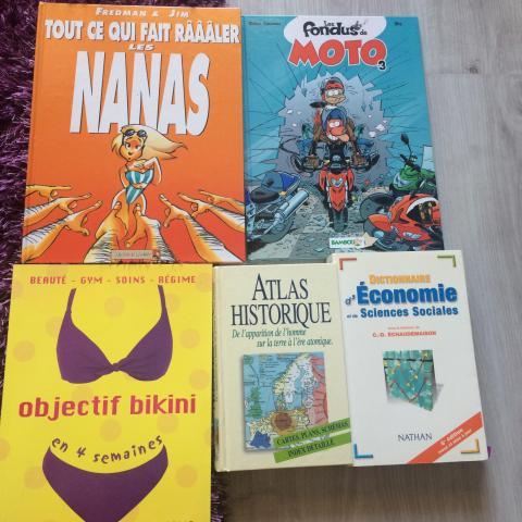 troc de  Divers livres, sur mytroc