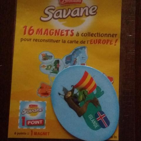 Carte Europe Brossard.Troc Magnet Brossard Carte De L Europe Islande