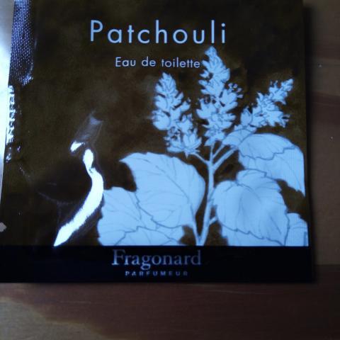 """troc de  res fid - Échantillon """"patchouli"""" fragonard, sur mytroc"""