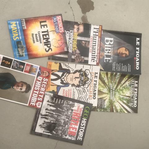 troc de  Lot de 7 magazines de culture générale, sur mytroc