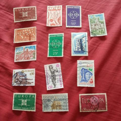 troc de  Lot timbre Europa 3, sur mytroc
