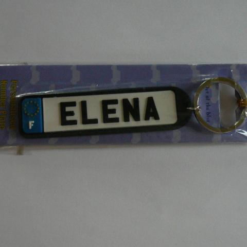 """troc de  Porte clés """"Elena"""", sur mytroc"""