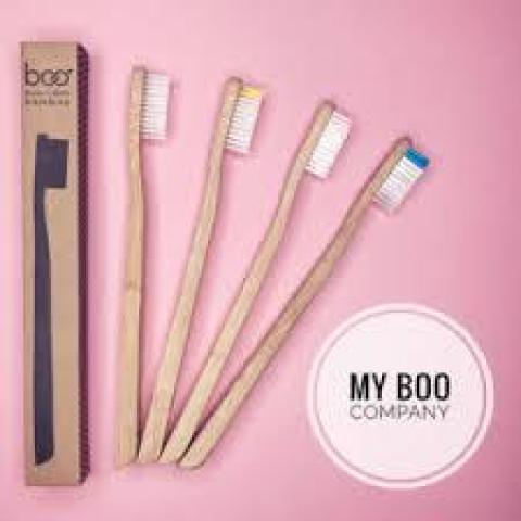 * Épuisé * Brosse à dents en Bambou My Boo Company