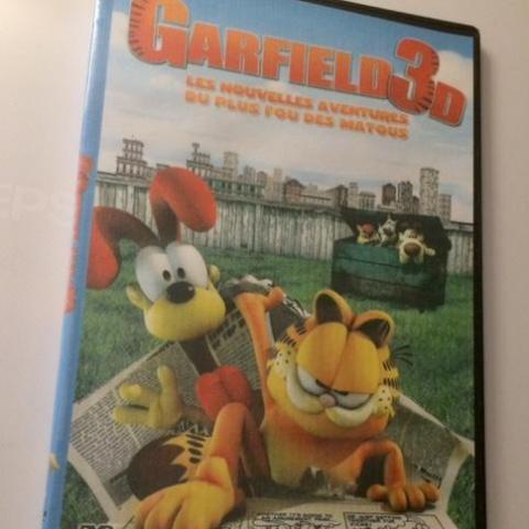 troc de  DVD film animation Garfield 3D, sur mytroc