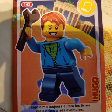 Carte Lego Auchan Livre.Troc Carte Auchan Lego 143
