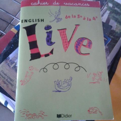 troc de  Cahier de vacances anglais, sur mytroc