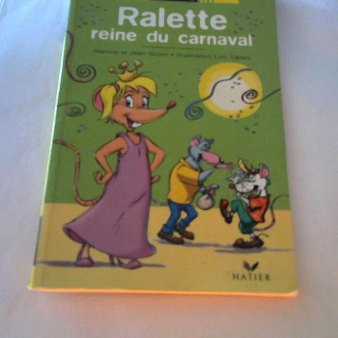 """troc de  Livre Ratus """"Ralette reine du carnaval"""", sur mytroc"""