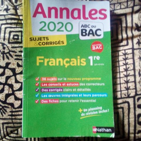 troc de  Annales 2020, sur mytroc