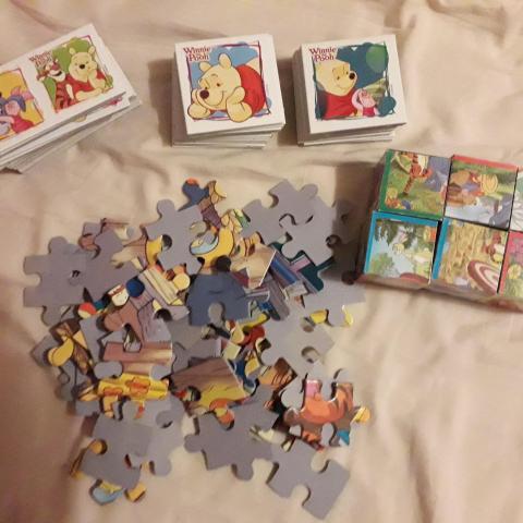 troc de  Lot jeux Winnie l'ourson, sur mytroc