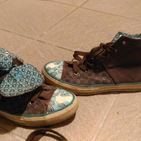 troc de  Chaussures type converse, sur mytroc