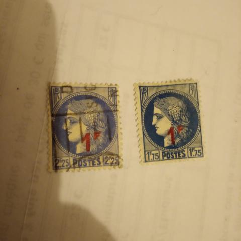 troc de  Réservé Lot timbres Cérès surtaxé, sur mytroc