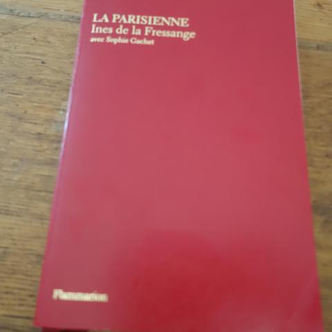 troc de  Livre LA PARISIENNE INES DE LA FRESSANGE, sur mytroc