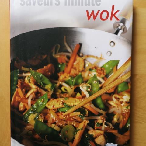 troc de  livre de recettes au wok, sur mytroc