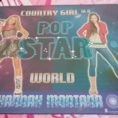 troc de  Sous-main bureau Hannah Montana, sur mytroc