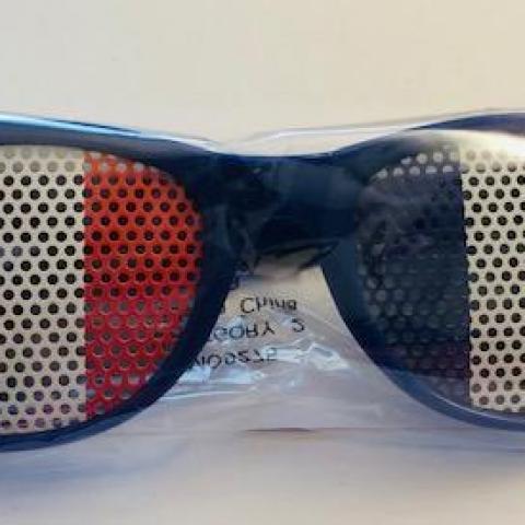 troc de  Paire de lunettes  pour les fans de équipe de France (neuve), sur mytroc