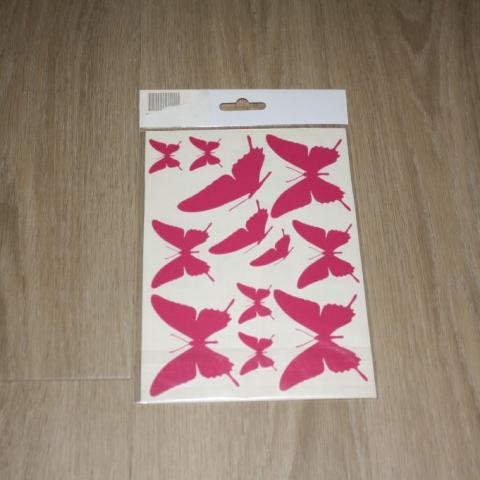 troc de  Planche de stickers papillon, sur mytroc