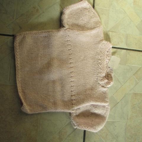 troc de  Pull laine 3 mois m courtes 5 noisettes, sur mytroc
