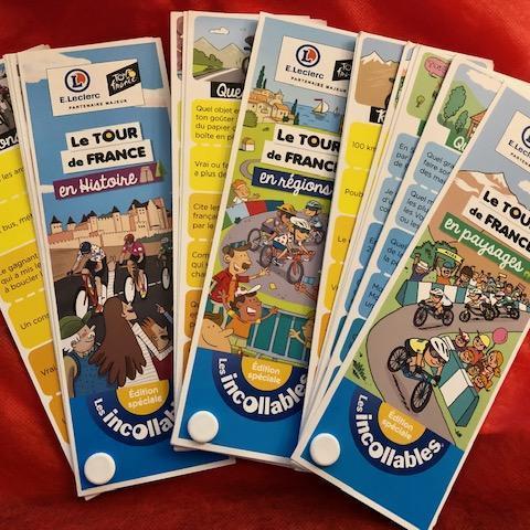 troc de  Lot Tour de France 2021 - 3 Incollables Spéciaux + Jeu de 54 cartes (neufs), sur mytroc