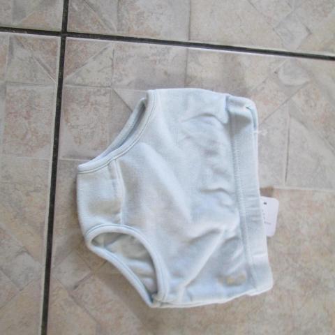 troc de  petite culotte 93cm (1 an )bleu 1 noisette, sur mytroc