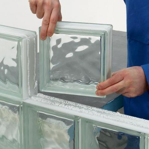 troc de  LOT 16 Paves / Briques / carrés / carreaux de verre transparent pret à poser, sur mytroc