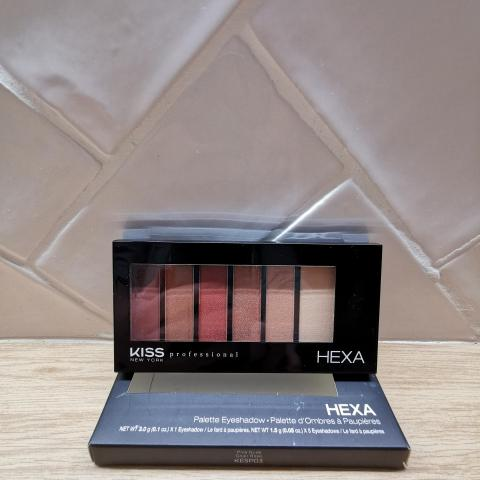 troc de  KISS NEW YORK - Palette de fards à paupières KESP03 Pink Nude, sur mytroc