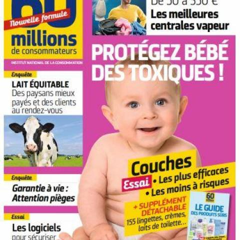 troc de  N°540 Protégez bébé des toxiques ! - 60 Millions de Consommateurs, sur mytroc