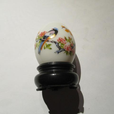 troc de  flacon vide avon en forme d'oeuf, sur mytroc