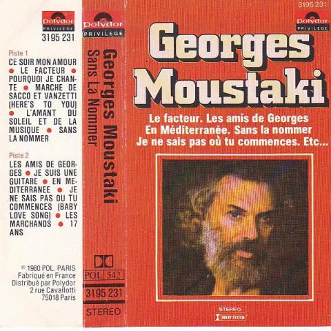 troc de  Cassette audio : Georges Moustaki, sur mytroc