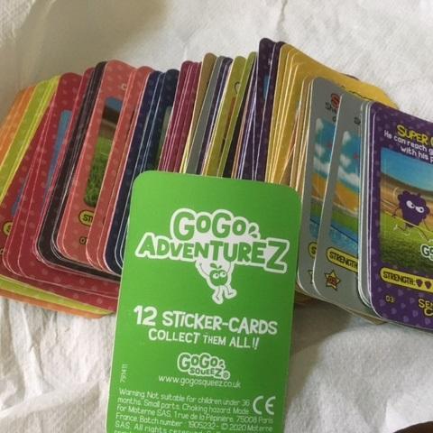troc de  cartes gogo adventurez, sur mytroc