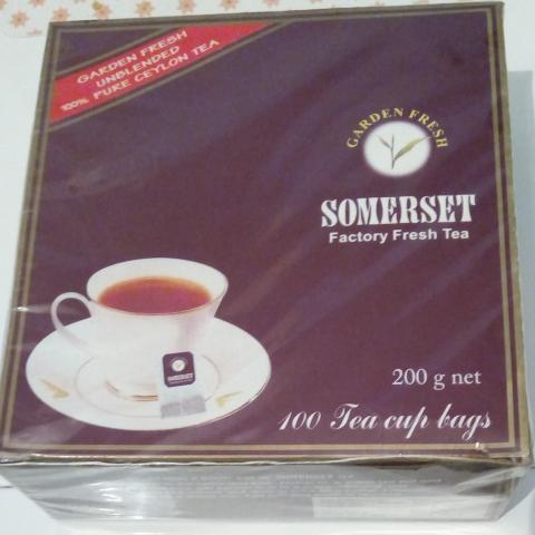 troc de  Sachets de thé emballés  (date de péremption 2016), sur mytroc