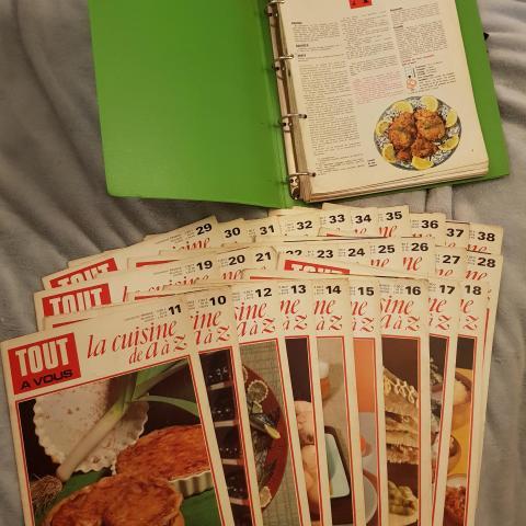 troc de  Gros lot de magazines de cuisines et fiches, sur mytroc