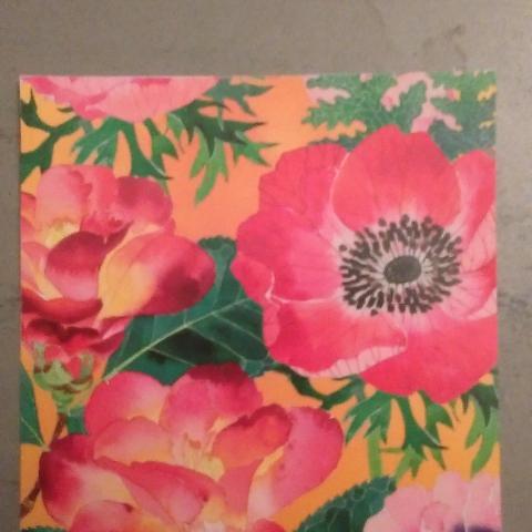 """troc de  Carte carrée """"fleurs""""., sur mytroc"""