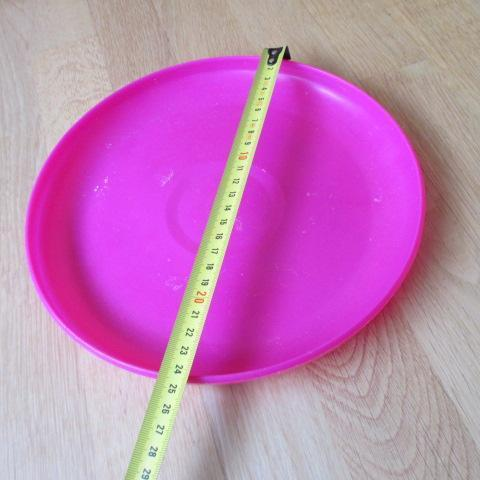troc de  à Lyon = Frisbee / disque volant rose, sur mytroc