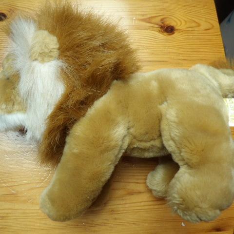 troc de  reserve peluche lion tbe, sur mytroc