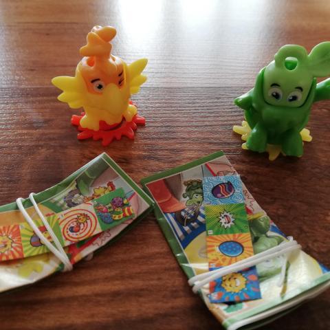 troc de  Lot jouets kinder, sur mytroc