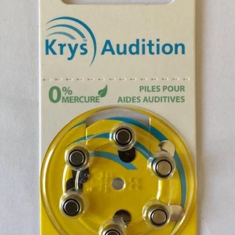 troc de  Lot 6 piles appareils auditifs - neufs - date 04/2023, sur mytroc