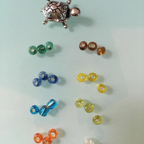 troc de  Lot tortue : 8 marques verre, sur mytroc