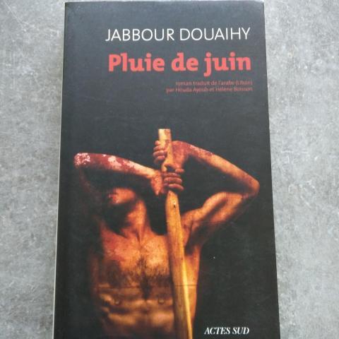 troc de  Roman Pluie de juin de Jabbour Douaihy, sur mytroc