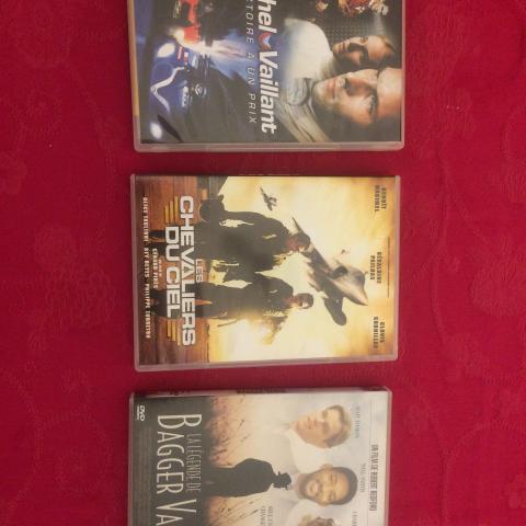 troc de  3 DVD action, sur mytroc