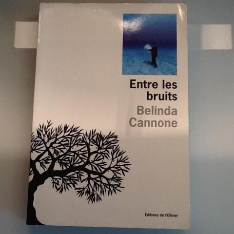 troc de  Entre les bruits Belinda Cannone  Bon état, sur mytroc