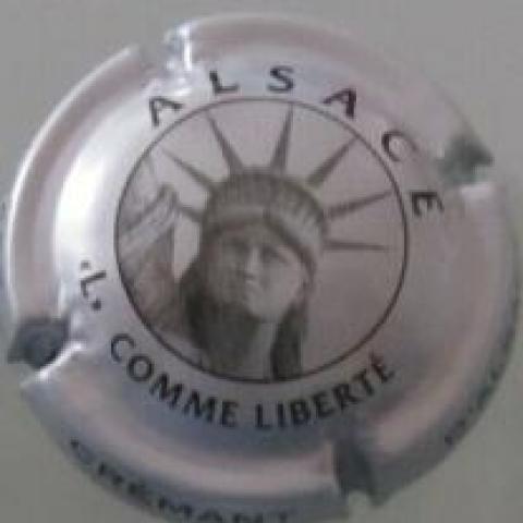 troc de  Capsule Crémant d'Alsace - L comme Liberté, sur mytroc
