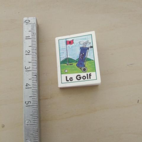 troc de  Mini livres golf, sur mytroc